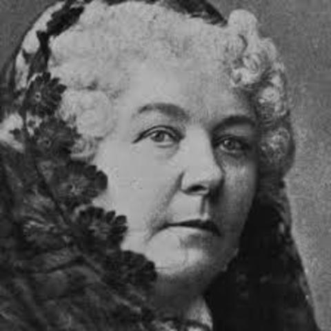 Elizabeth Cady Stanton is Born
