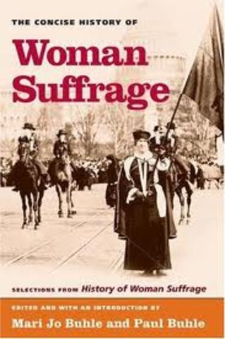 History of Woman's Suffrage volumes