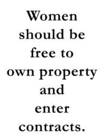 Women Own Property