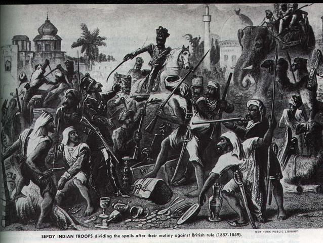 Indians Rebel / Sepoy Mutiny