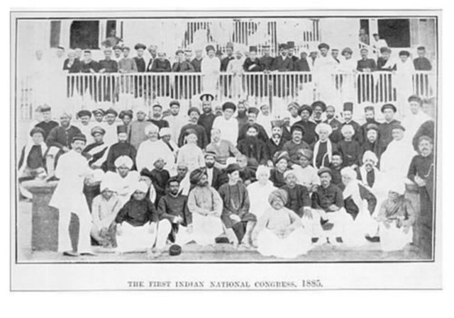 Hindu Indian National Congress, or Congress party was formed