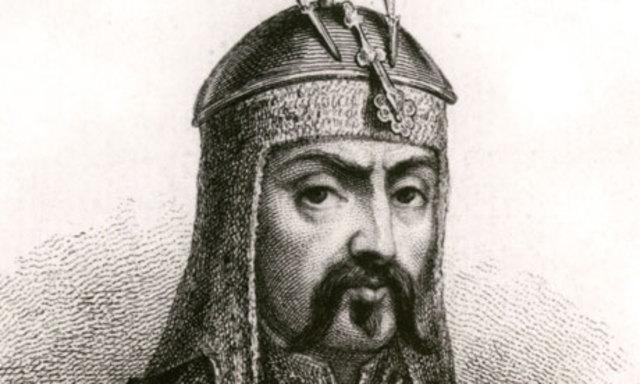 Genghis dies
