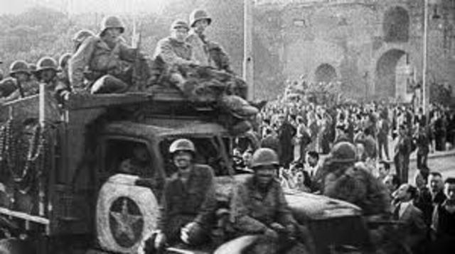 America: Italy Surrenders