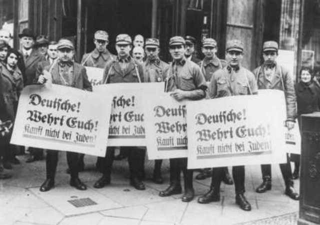 Chapter 18 Section 3 Jewish Boycott
