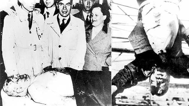 Mussolini es ejecutado