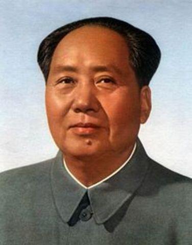 Birth of Mao Zedong