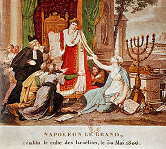 Napolean gathers the Grand Sanhedrin