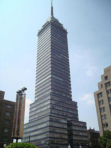 Inaguracion de la torre latinoamericana.