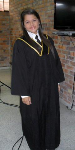 The day of my graduation