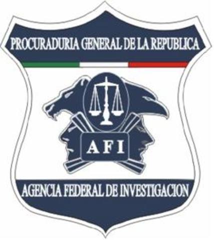 Vicente Fox crea la AFI (Agencia Federal de la Investigación).