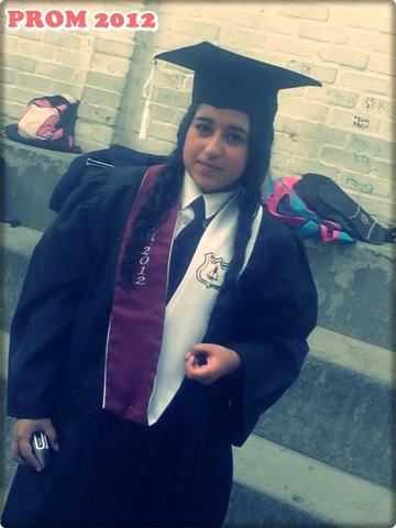 Mi graduacion de bachillerato
