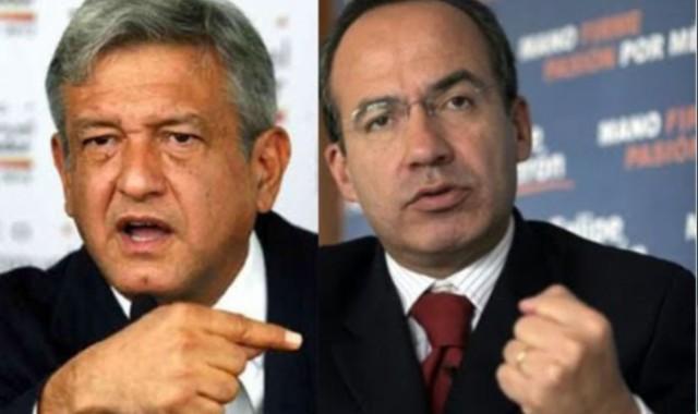 Lopez Obrador acusa a Calderon de trafico de influencias.