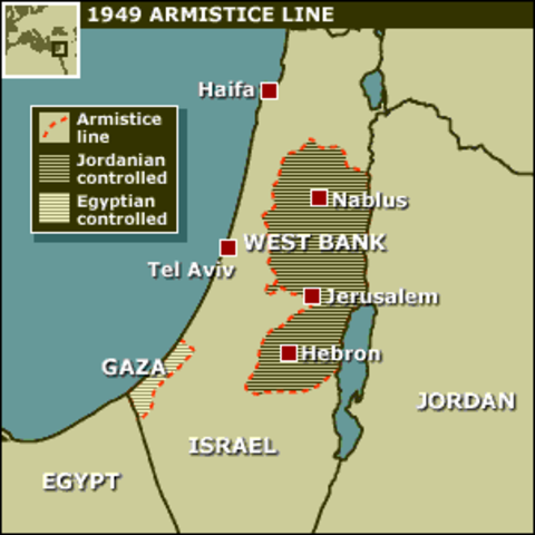 Armistice Signed in Israel