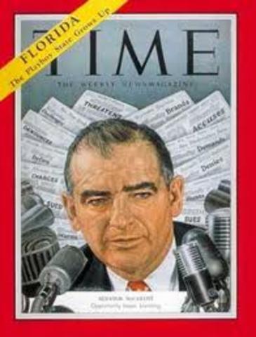 Joseph McCarthy Dies