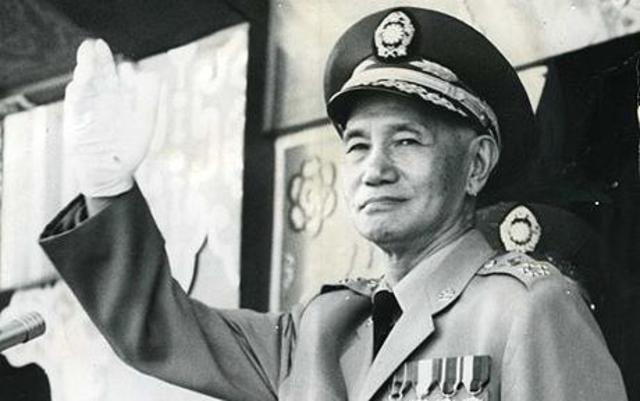 Chian Kai-Shek Flees