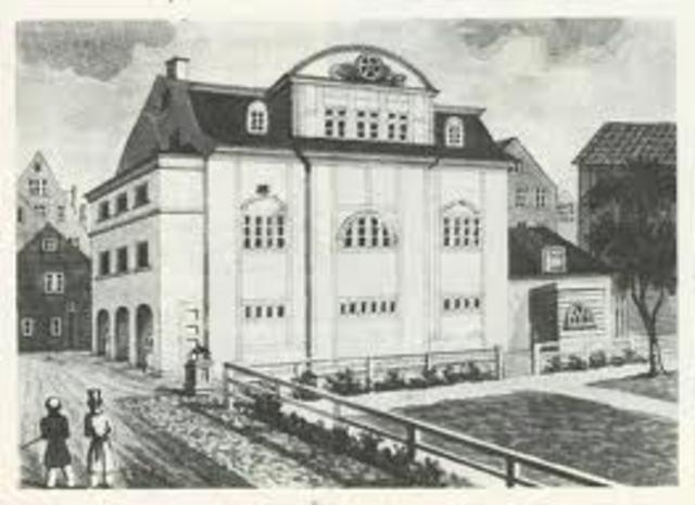 Inauguration of the Hamburg Temple