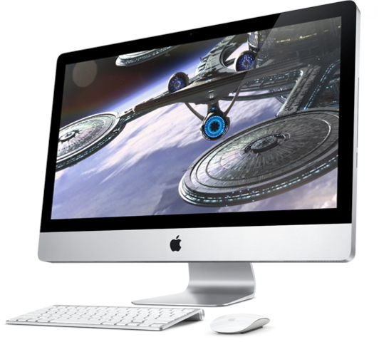 The latest model of the Imac