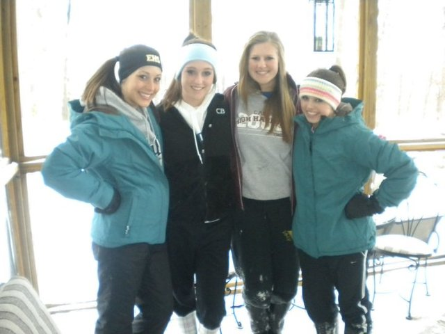 SNOW DAY sophomore year