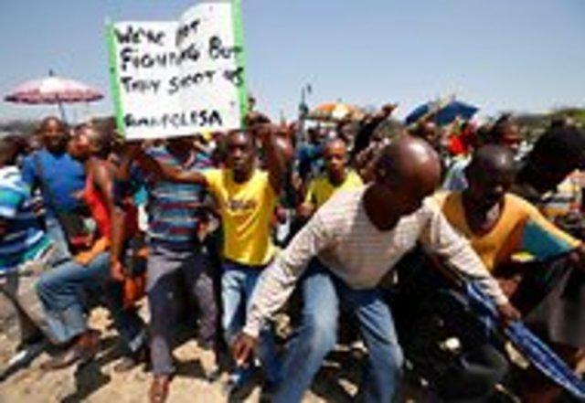 12,000 striking miners fired