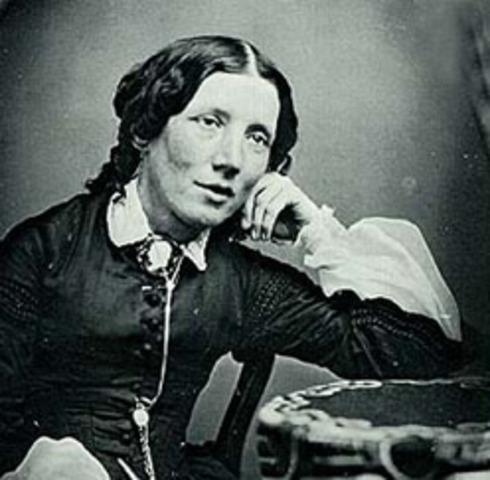 Harriet Beecher Stowe is born