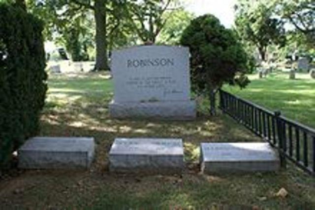 Jackie Robinson's death