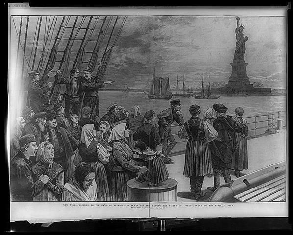 Jewish Immigration to America
