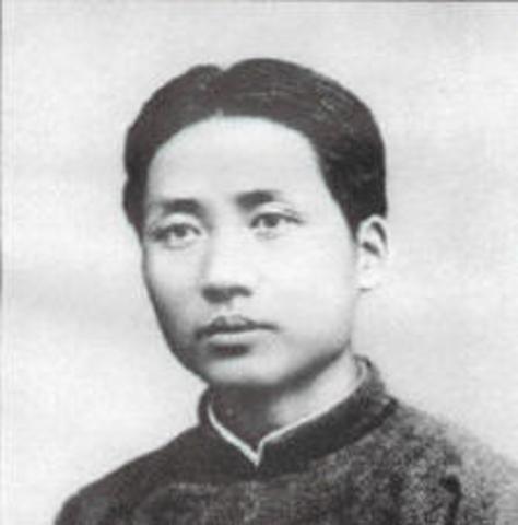 MAO WAS BORN