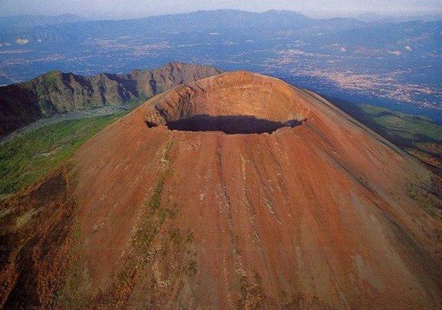 Erupción del monte Vesubio