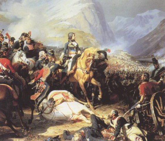Napoleon invades Italy (4 points)
