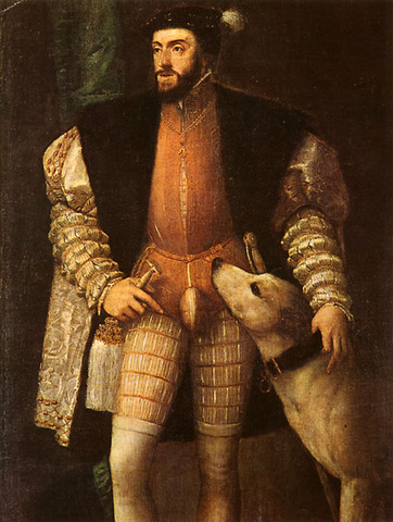 Charles V Inherits Two Crowns