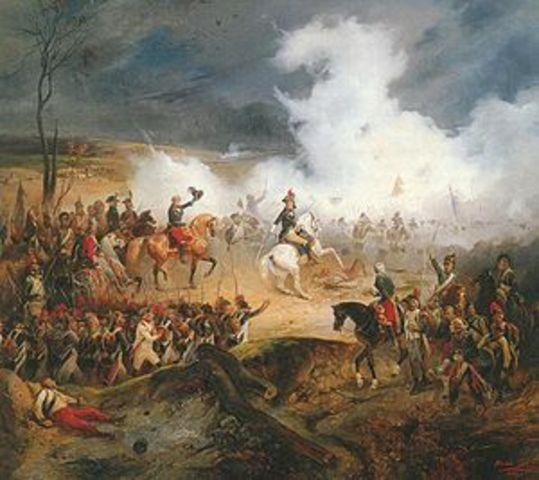 Britain Declares War on France ( 2 points)