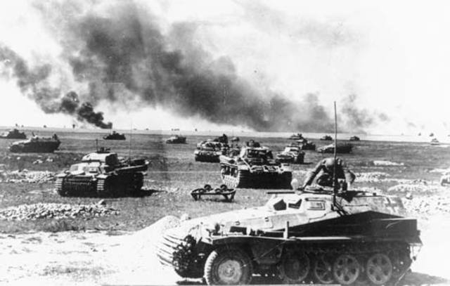 The Germans make a surprise invasion to the Soviet Union.