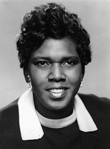 Barbara Jordan Elected to US congress