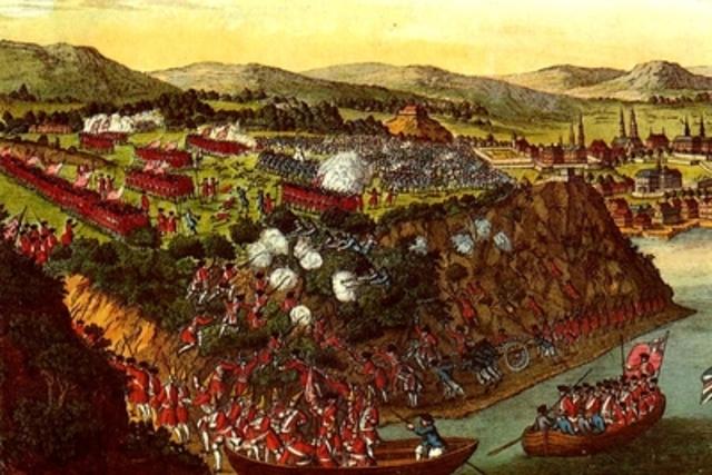 La bataille des plains d'Abraham.