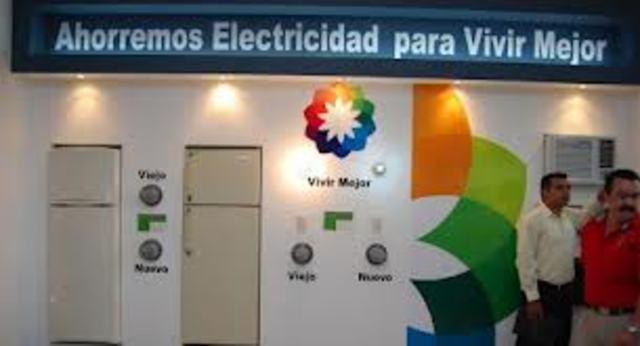 Programa de sustitución de equipos electrodomésticos.