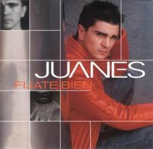 PRIMER ALBUM DE JUANES, FIJATE BIEN