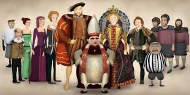 The Tudors Rule England