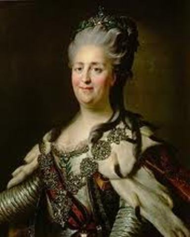 Catherine The Great Follows Peter