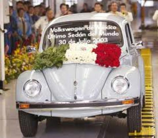Sale el último Volkswagen Escarabajo