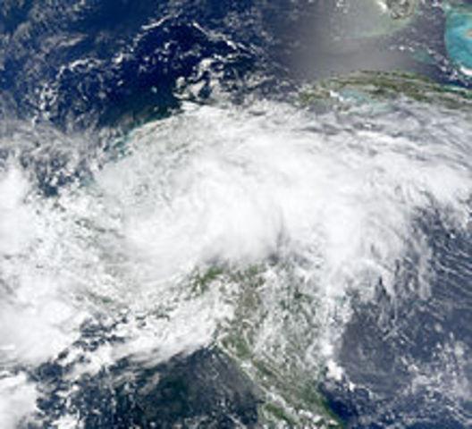tormenta tropical Arthur