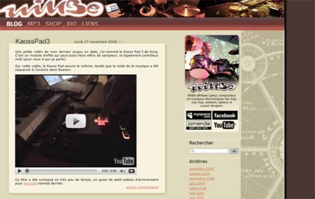 Latest website version (blog, rss, shop)