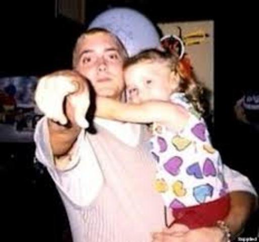 Eminem has a daughter, Hailie Jade Scott