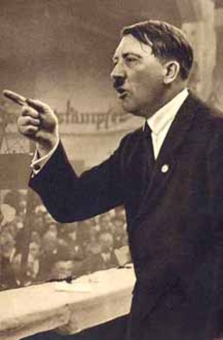 NAZI PARTY OFFICIALY FORMED