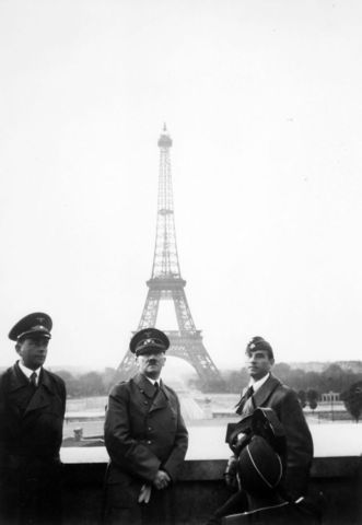 HITLER INVADES PARIS