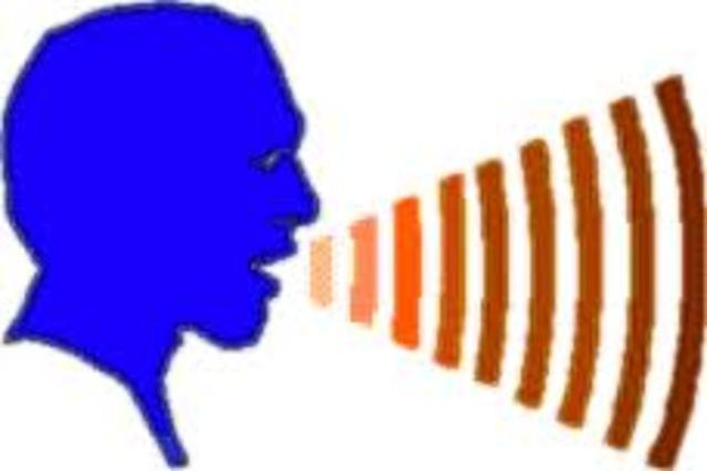 Trasmision de voz humana