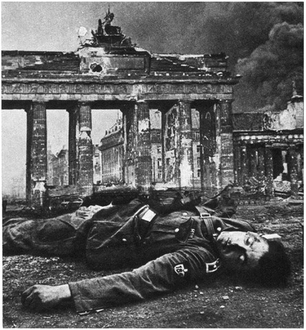 HITLER ORDERS DESTRUCTION OF GERMAN INDUSTRY