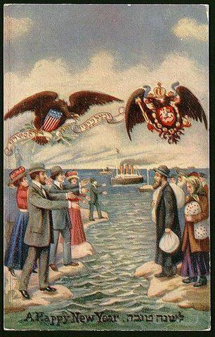 Eastern European Jews move to America