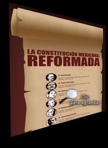 Reforma art. 27 constitucional
