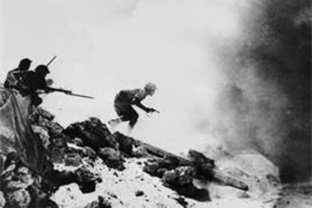 British forces stop the German advance at El Alamein
