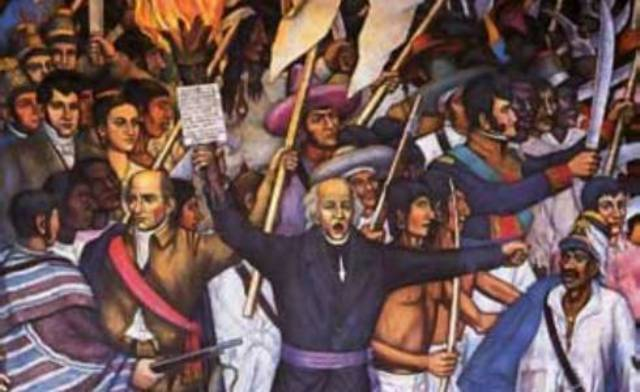 Start of the Mexican War of Independence